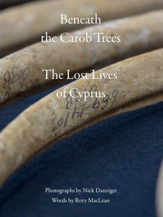 Beneath the Carob Trees - The lost lives of Cyprus (front cover)
