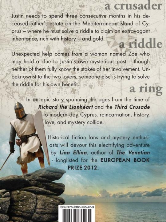 The English Scholar's Ring by Lina Ellina - Back cover