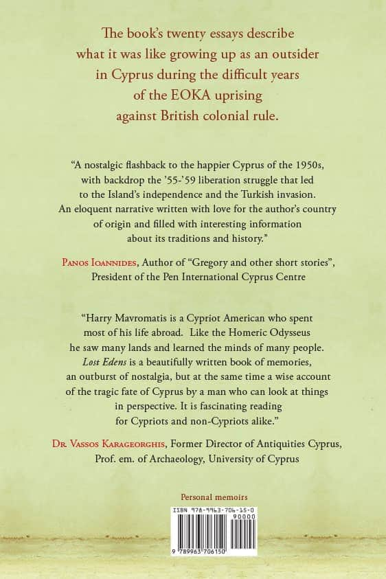 Lost Edens: A Cyprus Memoir